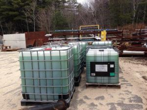 Approximately $10,000 of glycol came with the purchase of the chiller, which represents significant cost savings