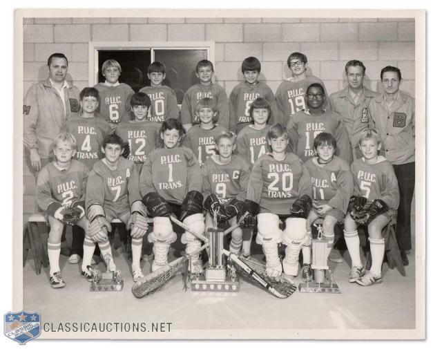 Gretzky Team Photo