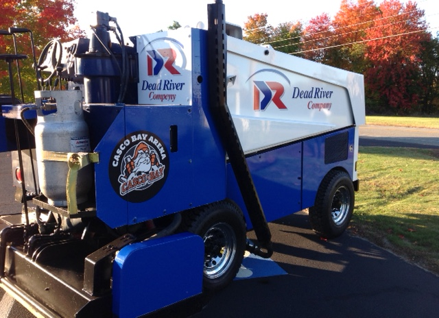 The Arena's Zamboni Ready for Action