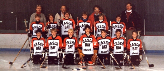 Travis & his Casco Bay teammates
