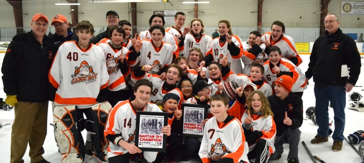 2013-14 Bantam & Pee Wee Tier III State Champions