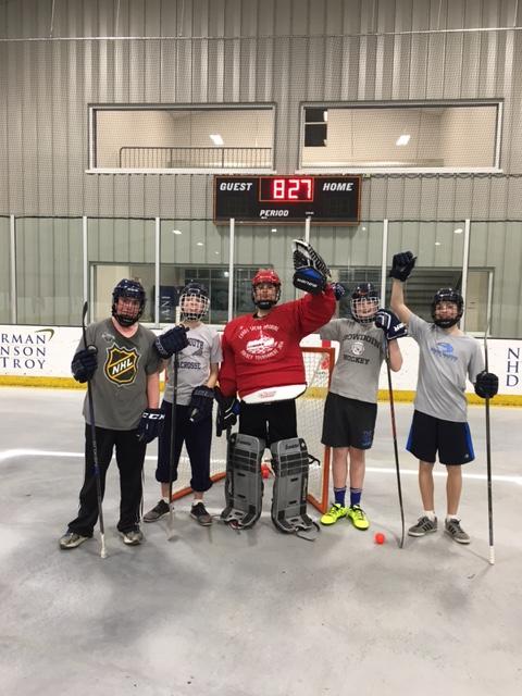 street hockey photo